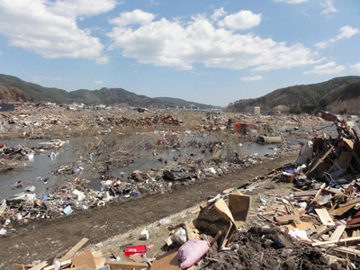 damaged Ohtsuchi area by the river.jpg
